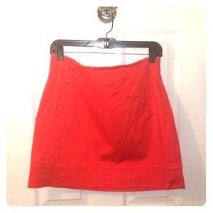 Vineyard Vines Orange Skirt